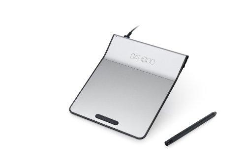 ワコム ペン付きタッチパッド USB接続 Bamboo Pad ブラック CTH301K