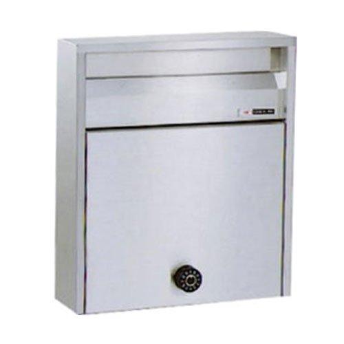 郵便ポスト ハッピー金属 ファミール680-UK 壁掛け式・ポール式 前入れ前出し ダイヤル錠