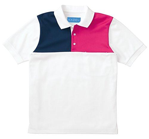 介護ユニフォーム スリーカラーポロシャツ KAZEN S 216-14