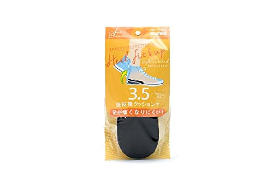サンダル狂うブリーフケースコロンブス スタイルソリューション カカトフィット&アップ 3.5cm 1足分(2枚入)