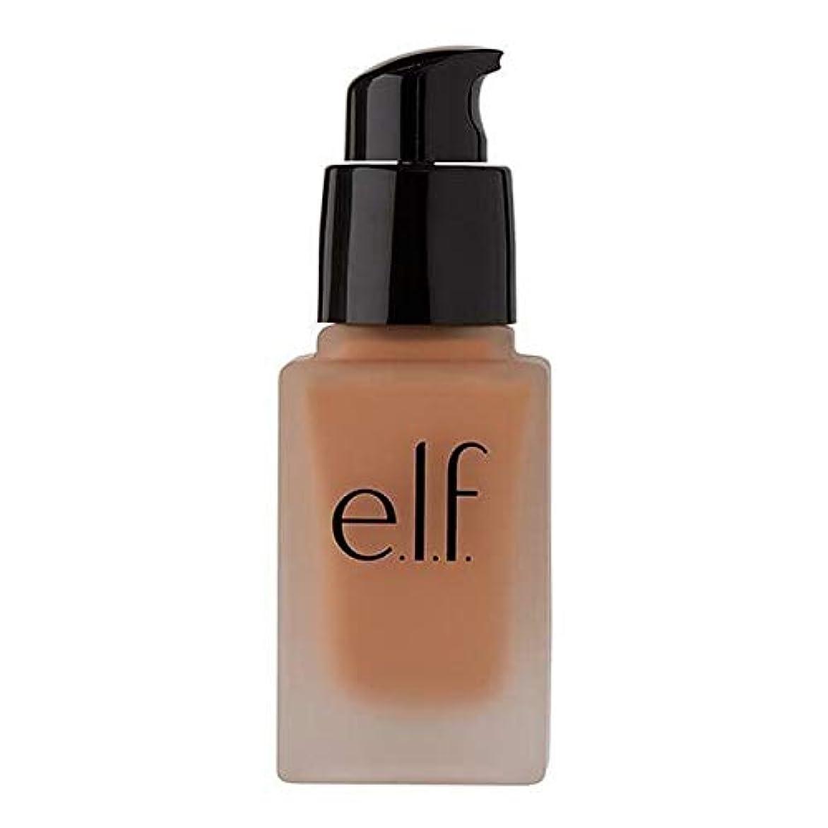 空中神経衰弱額[Elf ] エルフ。完璧な仕上がりのファンデーションSpf 15キャラメル - e.l.f. Flawless Finish Foundation SPF 15 Caramel [並行輸入品]