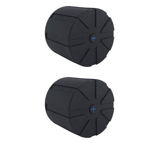 交換レンズに防水/防塵/衝撃吸収効果 KUVRDユニバーサルレンズキャップ(レンズ口径 60mm〜150mmに対応)2個セット