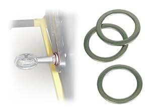 BIKEFIT(バイクフィット) 1.5mm ペダルスペーサー 25個入