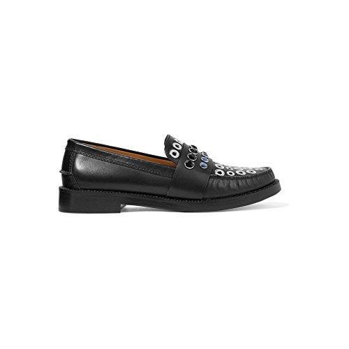 (ソニア リキエル) Sonia Rykiel レディース シューズ・靴 ローファー・オックスフォード Embellished leather loafers [並行輸入品]