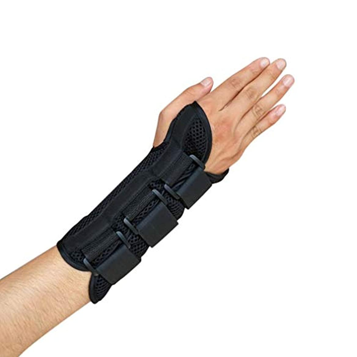 レーザ関係ない経験手根管手首ブレースサポート捻Sp前腕スプリントバンドストラップ保護-Rustle666