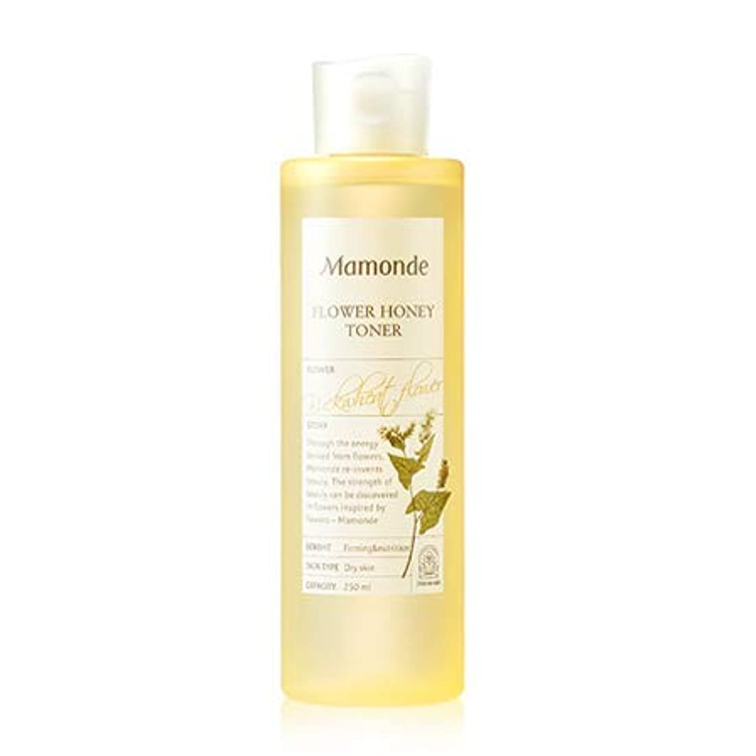 ロードハウス退化する乳白色Mamonde Flower Honey Toner マモンド フラワー ハニー トナー 250ml [並行輸入品]