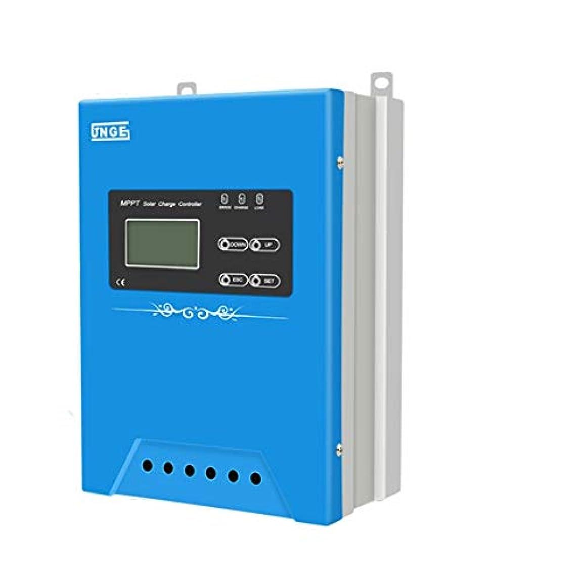 アナニバー言い訳社員MPPTソーラー充電コントローラー12V / 24V / 48V自動ソーラーパネルバッテリーレギュレータWIFI GPRS 30A / 40A / 50A / 60A / 70A LCDディスプレイ付きソーラー充電コントローラー (Color : With GPRS, Size : 30A)
