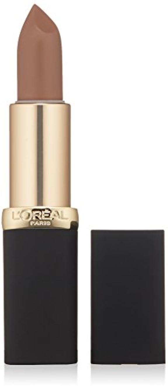 記録ベーリング海峡リボンL'Oréal Colour Riche Matte Lipcolour (806 MATTE-ITUDE)