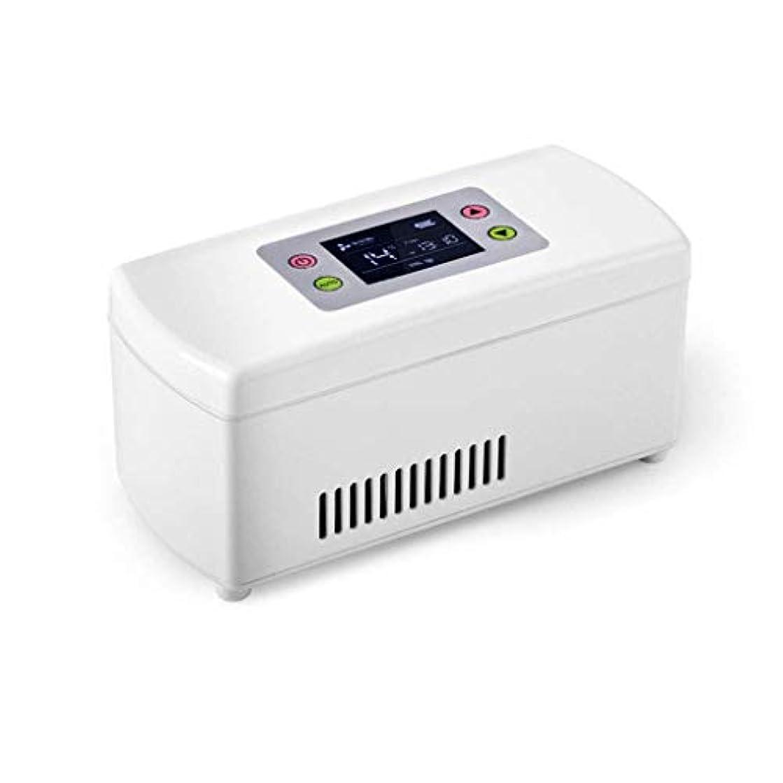 の量アークアンペアインスリンクーラー、ポータブルインスリン冷蔵ボックス、ミニドラッグストレージ冷蔵庫、自動車および家庭用の2-8℃のインスリンクーラートラベルケース(WYJJJJJ)
