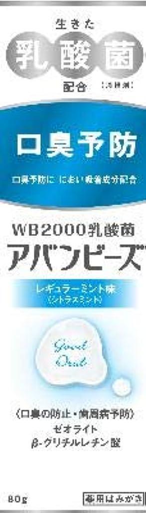 マニュアル戦士謙虚わかもと アバンビーズ レギュラーミント 80G 5本セット