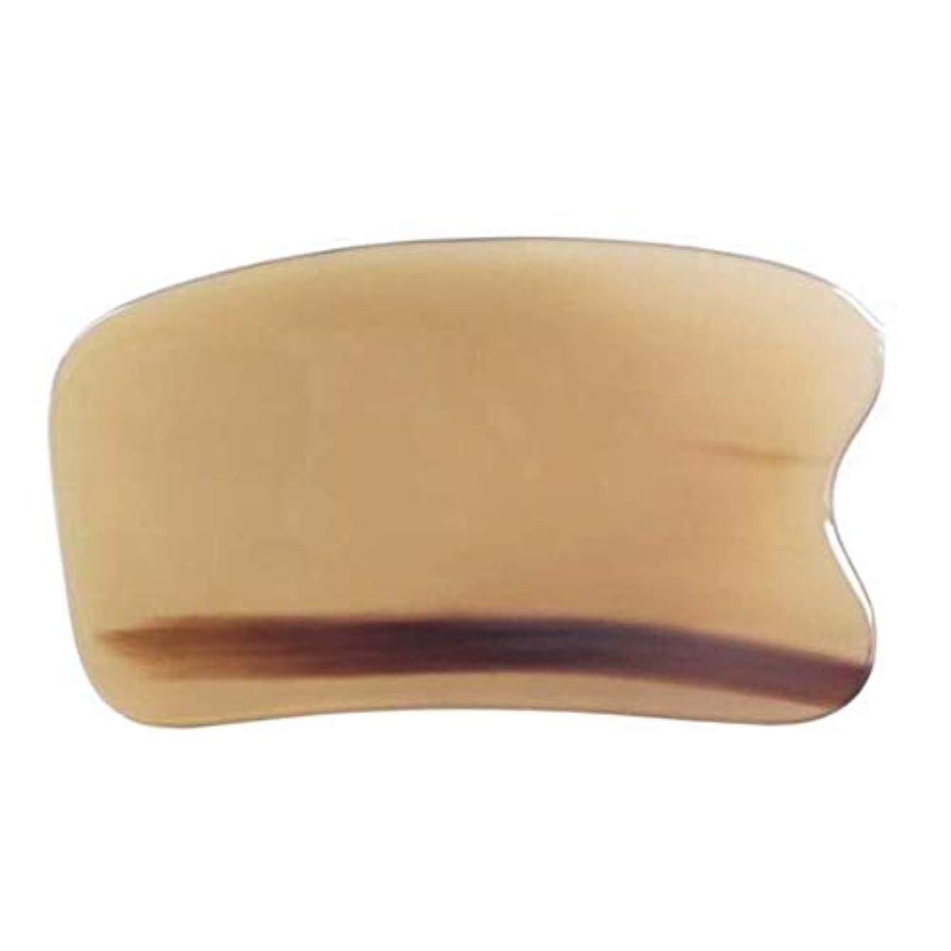 形状貫通臭いグアシャマッサージツールフェイスヘッドスクレーピングバッファローホーングアシャスクレーパー、SPA理学療法ボードトリガーポイント鍼