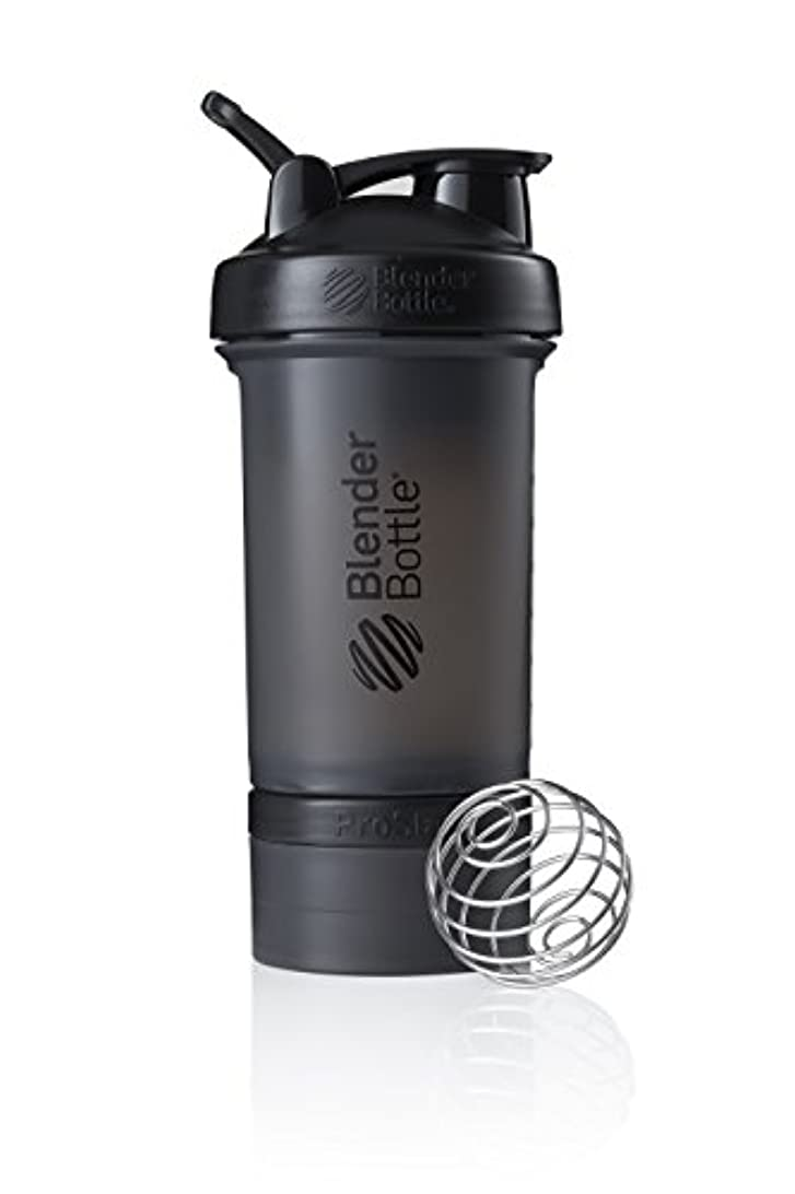 セーブバウンス将来のブレンダーボトル 【日本正規品】 ミキサー シェーカー ボトル Pro Stak 22オンス (650ml) ブラック BBPSE22 FCBK