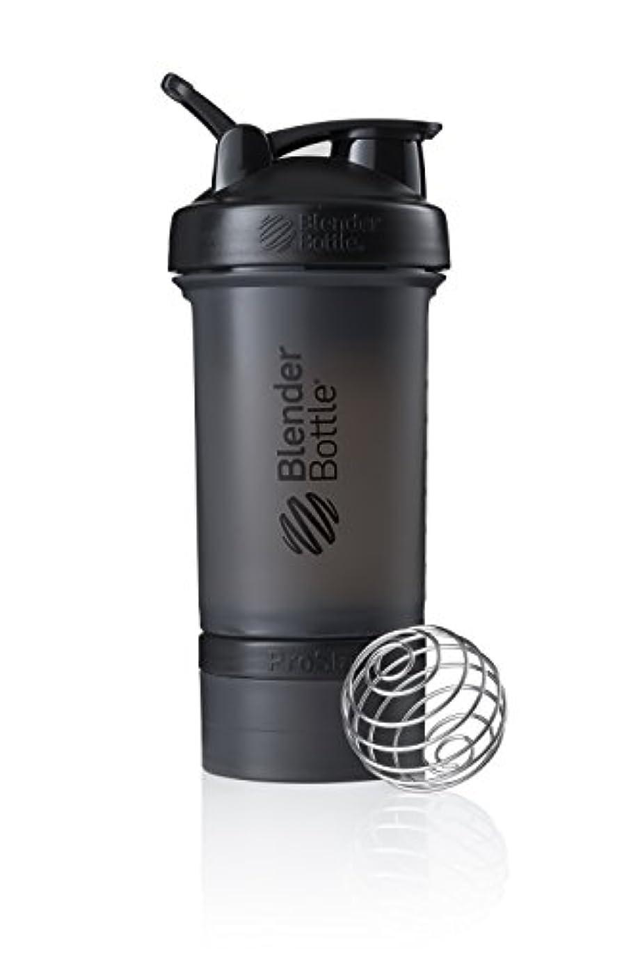 科学リーチ倉庫ブレンダーボトル 【日本正規品】 ミキサー シェーカー ボトル Pro Stak 22オンス (650ml) ブラック BBPSE22 FCBK