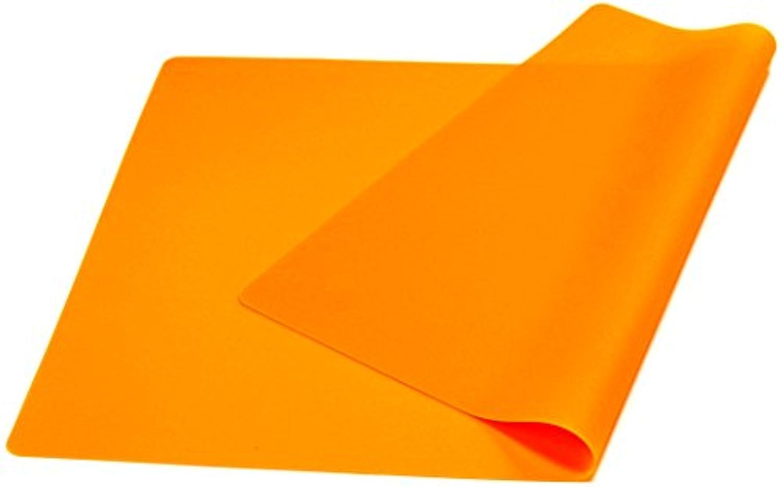 3world 大判シリコン マット 40x60cm 選べる カラー SW864 オレンジ