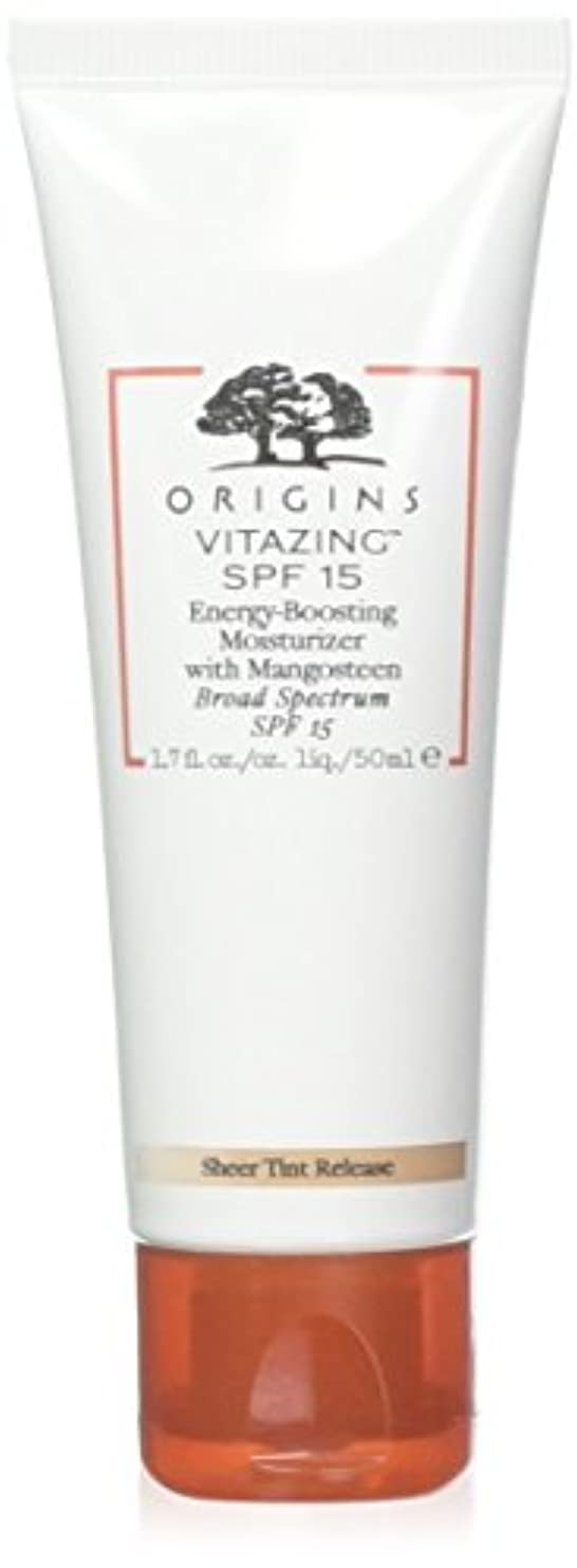 ロッドシリーズタウポ湖Origins - VitaZing(TM) SPF 15 Energy-Boosting Moisturizer with Mangosteen 50ml (海外直送品)