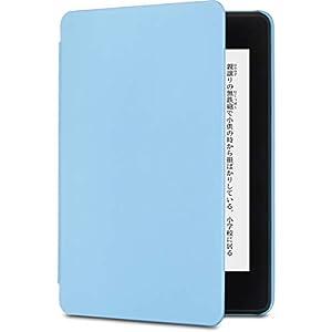 Amazon認定 【Kindle Paperwhite (第10世代)用カバー】Nupro スリムカバー パステルブルー