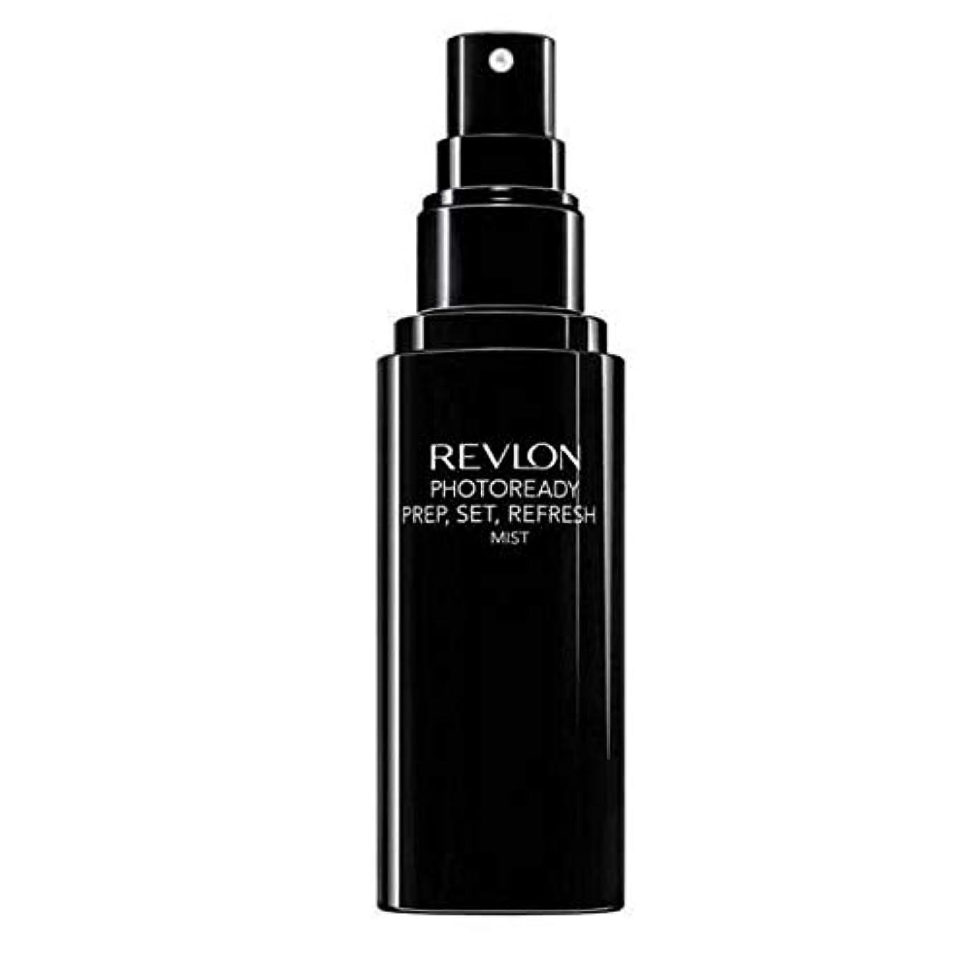 リップキャラバン何[Revlon ] レブロンPhotoready準備、セット、リフレッシュミスト - Revlon PhotoReady Prep, Set, Refresh Mist [並行輸入品]
