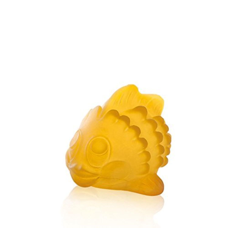 HEVEA Polly the Fish Bath Toy BPA phthalates and PVC-free natural rubber no holes [並行輸入品]
