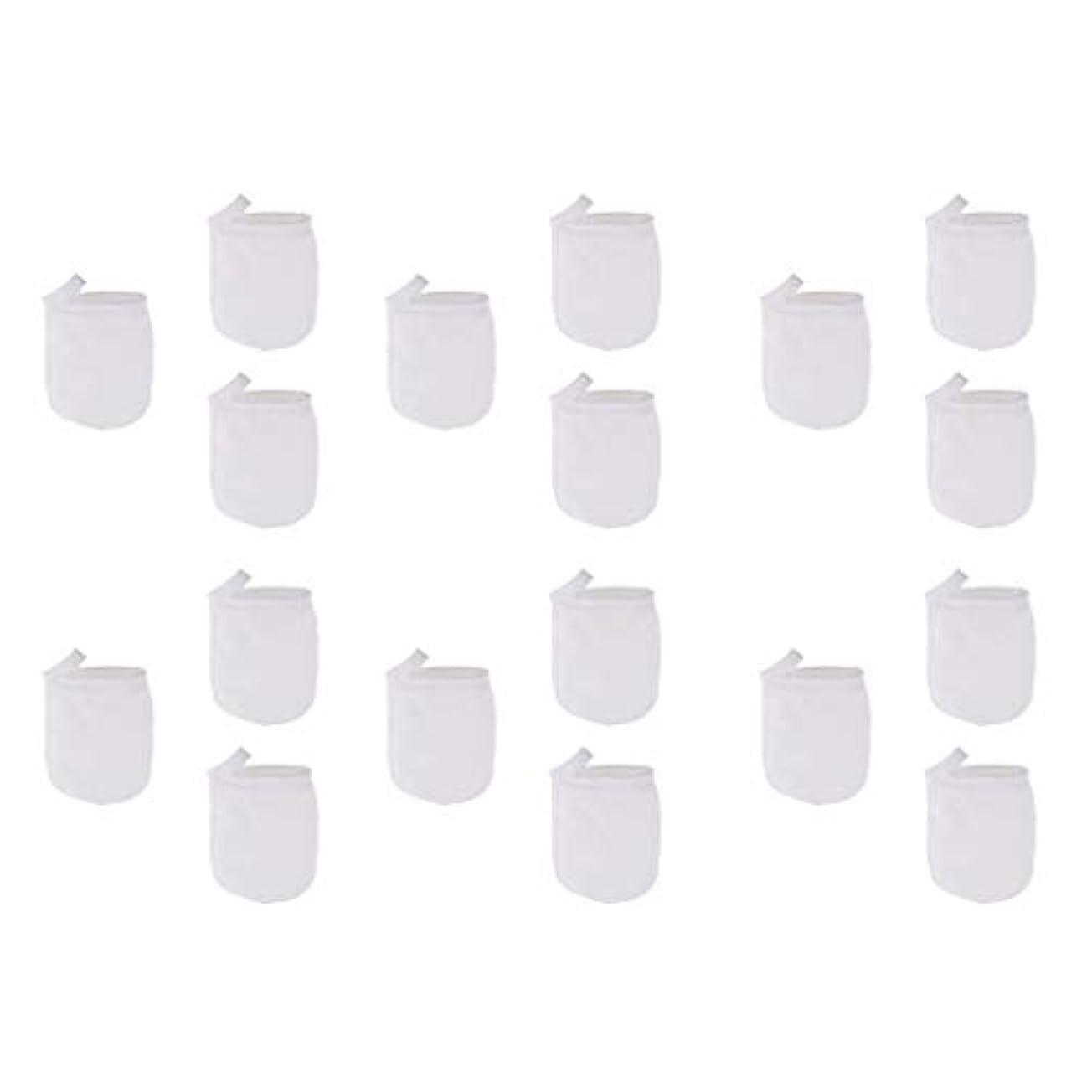 十一設計留め金T TOOYFUL 洗顔手袋 洗顔グローブ クレンジンググローブ メイク落とし手袋 マイクロファイバー 約18個パック