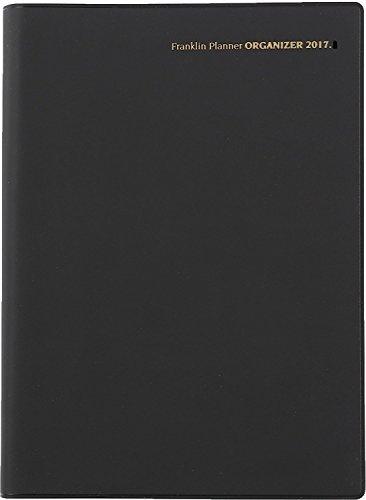 フランクリン・プランナー 手帳 オーガナイザー 2017 4月始まり 1日1ページ デイリー A5 PVC ブラック 63474