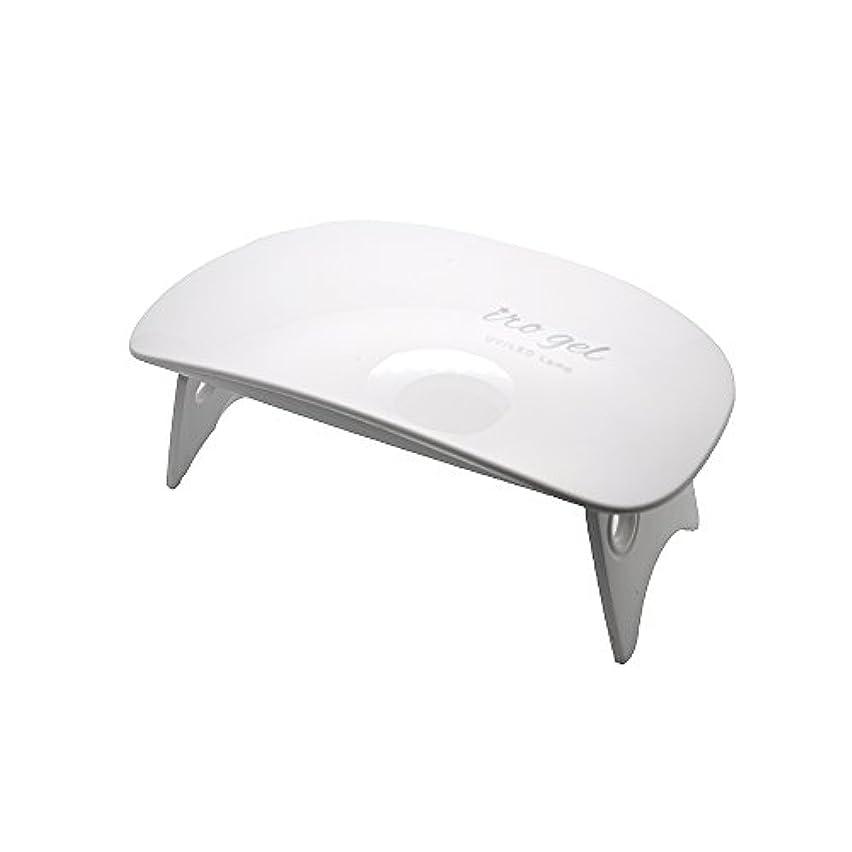 スポンサー従事する胃irogel イロジェル 6W UV LED ネイルドライヤー ライトミニ UVライト LEDライト UVレジン もOK USB専用