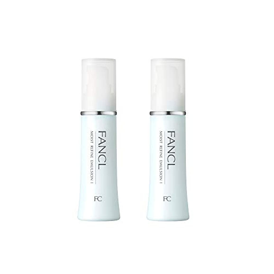 正確売る姿勢ファンケル (FANCL) モイストリファイン 乳液I さっぱり 2本セット 30mL×2 (約60日分)
