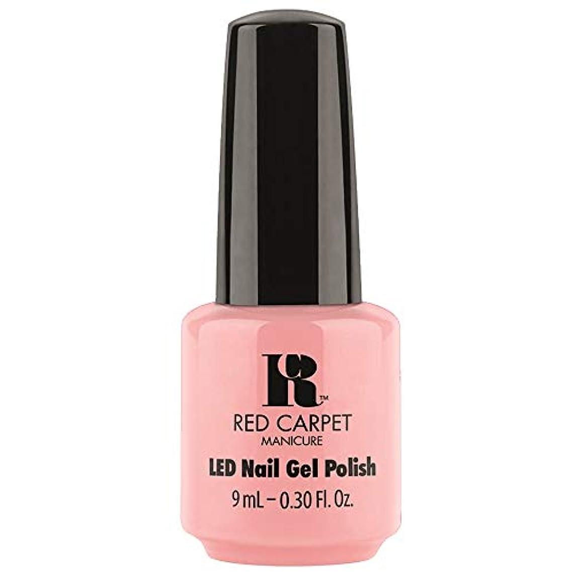 比類のない四半期サージRed Carpet Manicure - LED Nail Gel Polish - Frolic in the Sand - 0.3oz / 9ml