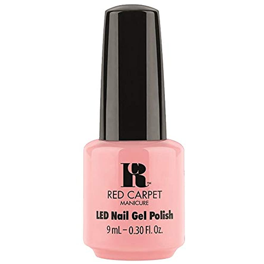 居住者止まる長さRed Carpet Manicure - LED Nail Gel Polish - Frolic in the Sand - 0.3oz / 9ml