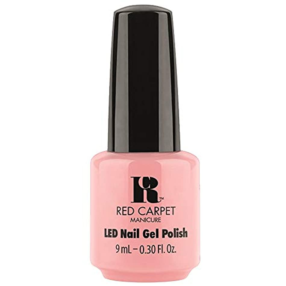 普通のに対応する角度Red Carpet Manicure - LED Nail Gel Polish - Frolic in the Sand - 0.3oz / 9ml