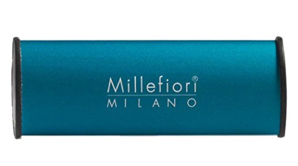 何故なのクリエイティブ運動するMillefiori カーエアーフレッシュナー ブルー スパイシーウッド CDIF-A-006