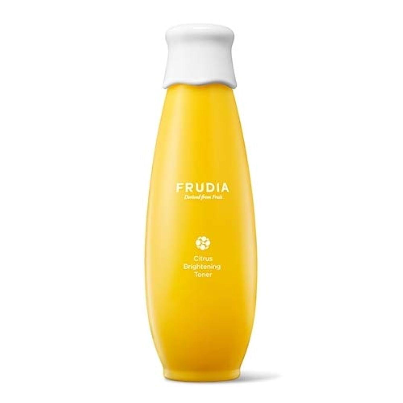 むしゃむしゃファイター一生FRUDIA みかん ブライトニング トナー 化粧水/Citrus Brightening Toner (195ml) [並行輸入品]