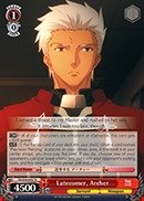 Weiss Schwarz - Latecomer, Archer - FS/S34-E057 - R (FS/S34-E057) - Fate/stay night [Unlimited Blade Works] Booster