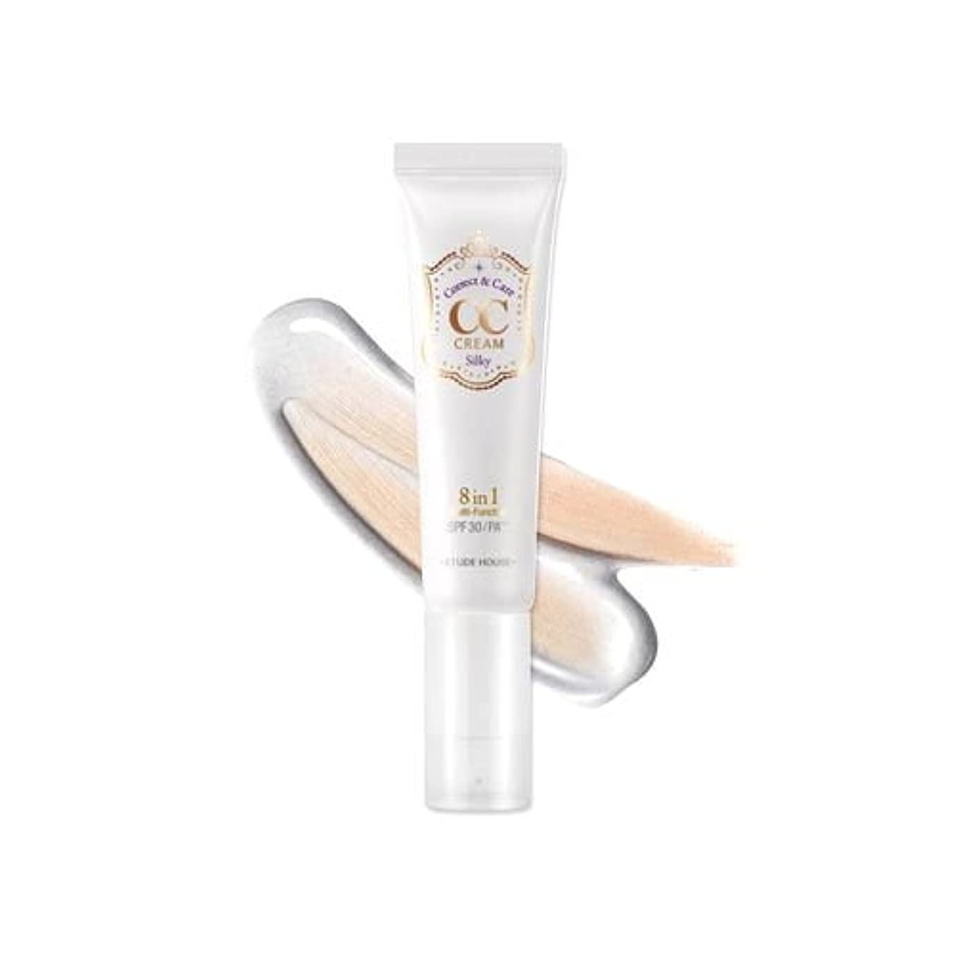 時計フルーティー含む(3 Pack) ETUDE HOUSE CC Cream - #01 Silky (並行輸入品)