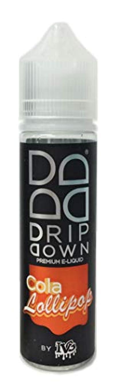 スピリチュアル受信機アイロニーDRIP DOWN(ドリップダウン) 電子タバコリキッド50ml Cola Lollipop(コーラロリポップ)