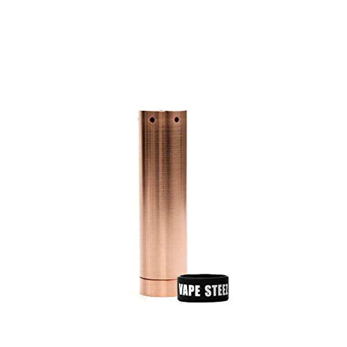コンパクトワークショップ予測子Kennedy The Vindicator MOD 電子タバコ 正規品 Made in USA VAPESTEEZオリジナルBAND付 (copper(smooth))
