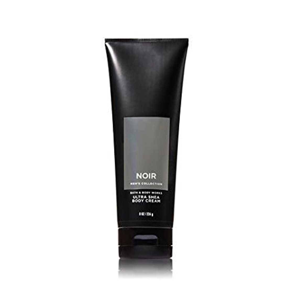 天気ぺディカブ環境【並行輸入品】Bath and Body Works Noir for Men Ultra Shea Body Cream 226 g
