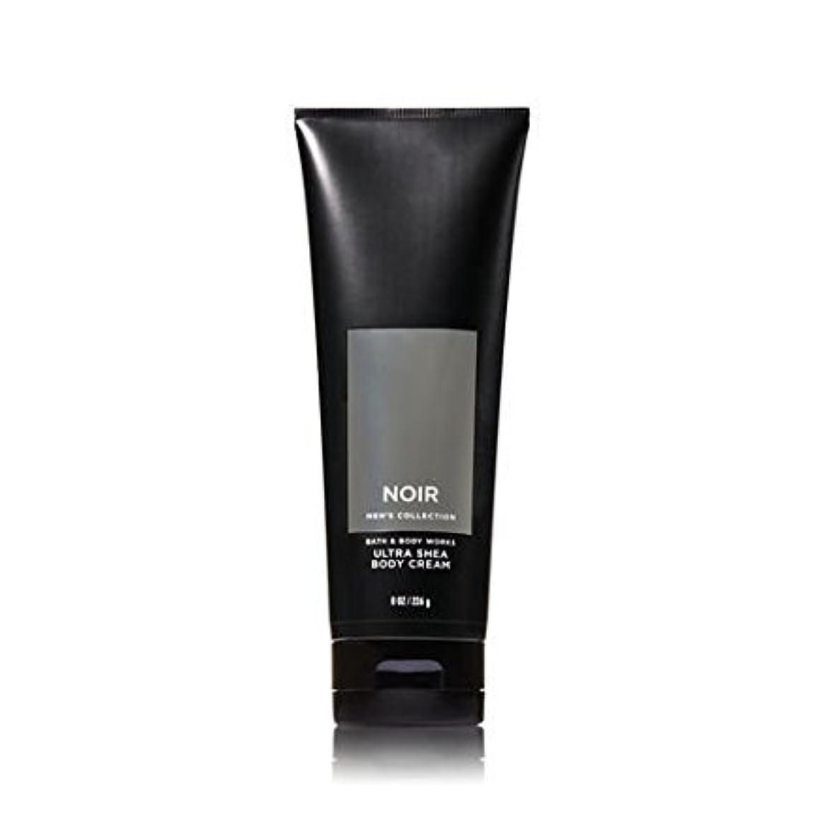 おもしろい誤ってひばり【並行輸入品】Bath and Body Works Noir for Men Ultra Shea Body Cream 226 g