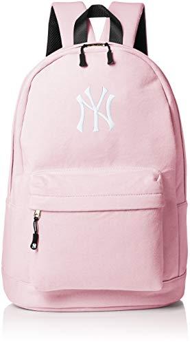 NEWYORK YANKEES(ニューヨークヤンキース) スウェット スウェットリュック リュックサック ロゴ 立体刺? レディース メンズ ユニセックス ピンク
