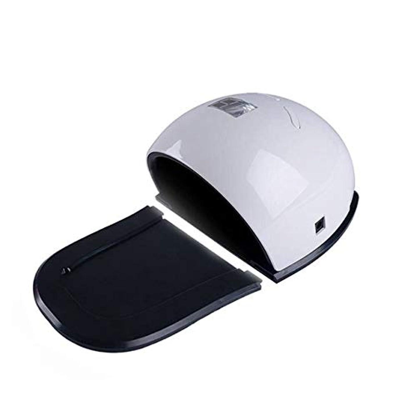 3タイマー、LCDディスプレイ、取り外し可能なベース付きジェルポリッシュ用UV LEDネイルドライヤー