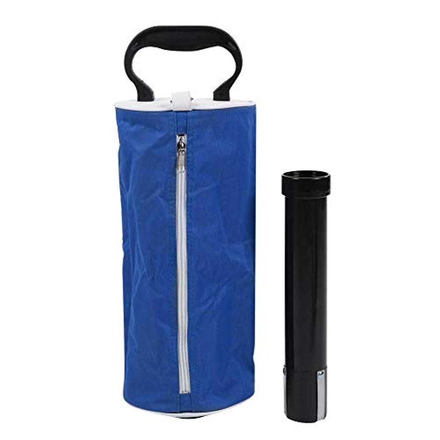 国歌強盗ピアニストゴルフピックアップバッグ ジッパー付きポータブル大容量ゴルフボールピッカー