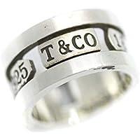 ティファニー TIFFANY&Co. 1837 ワイド ロゴ リング・指輪 8号 シルバー ユニセックス シルバー925 アクセサリー [中古]