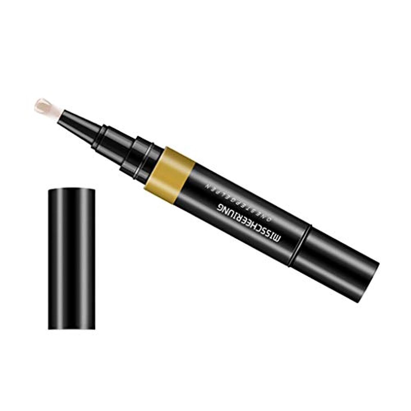 なだめる寸法受け取るToygogo ジェル マニキュアペン ワニスラッカー ネイルアートペン 3 イン 1 サロン 初心者 セルフネイル DIY - ヌード