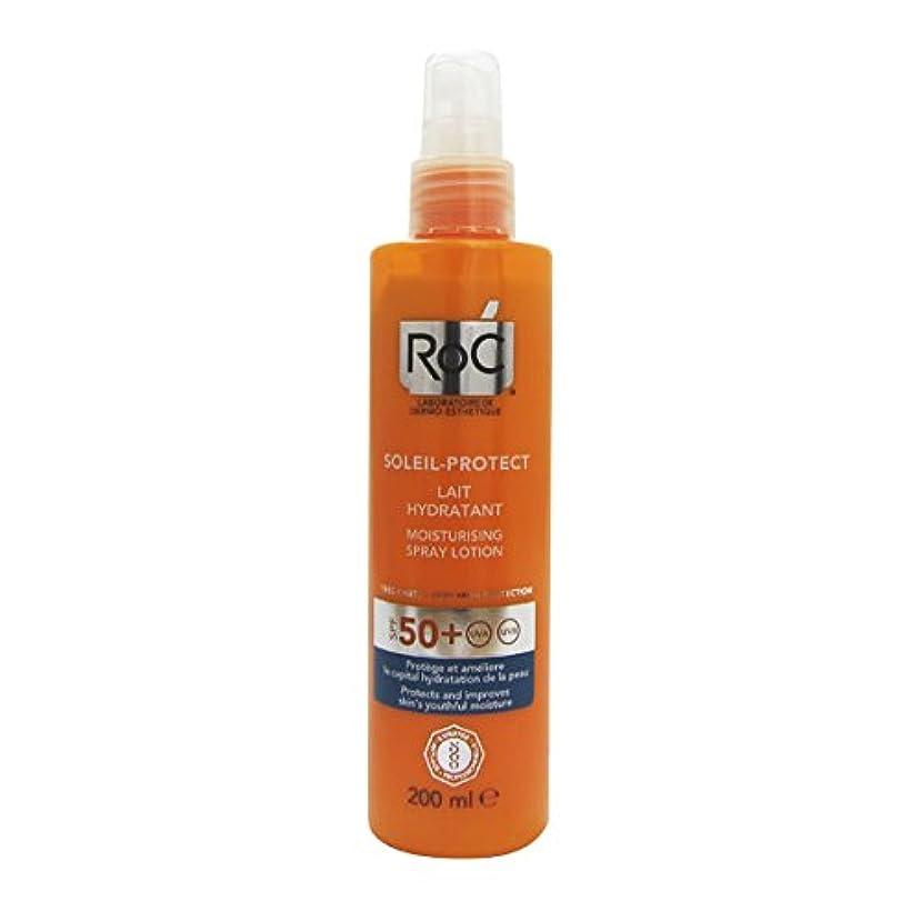 光沢ドレインエージェントRoc Soleil Protect Hydrating Fluid Spf30 200ml [並行輸入品]