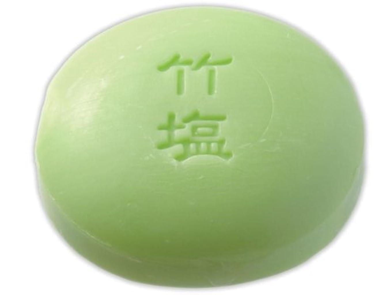 梨いっぱい説教する和み庵 石けん(竹塩石けん) 30g×1個