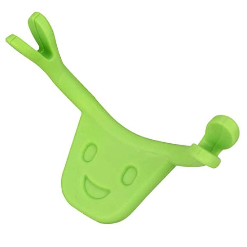 お金ゴム自発的強調Fenteer 表情筋をエクササイズ シリコン トレーニング 表情筋トレーナー 顔痩せ 二重 あご 消す 全2色 - 緑
