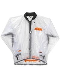KTM透明雨ジャケット大きいサイズ