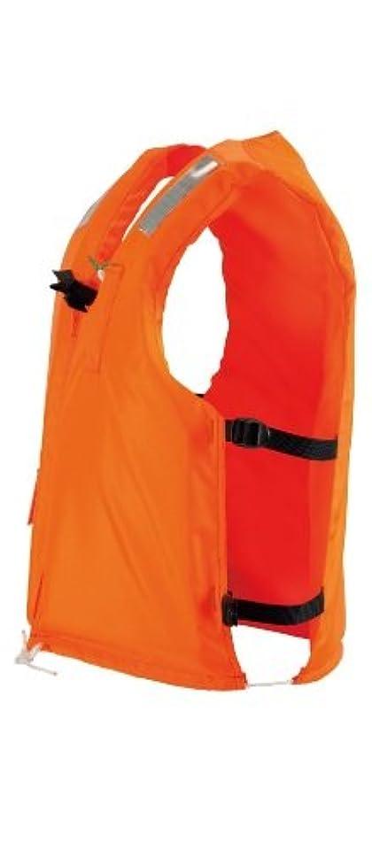 静かに解明チャレンジocean life(オーシャンライフ) 作業用兼小型船舶用救命胴衣オーシャンC-III型 C-III型 オレンジ 大人用