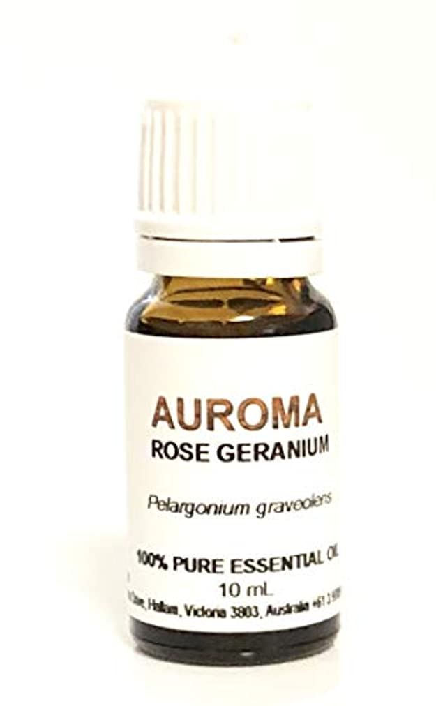 蒸留古い盲信AUROMA ローズゼラニウム 10ml