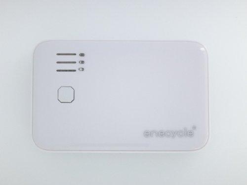 enecycle EN05  5000mAh 2.1A+0.5A 2ポートUSB出力 スマホ・iPhone4s対応 携帯充電器