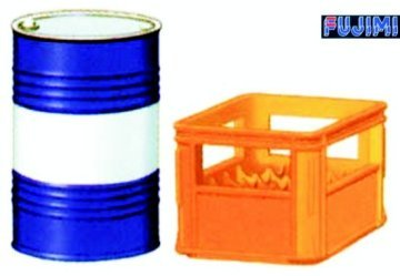 ディティールアップシリーズ Dup-25 1/32 ビールケース・ドラム缶セット